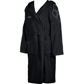arena Zodiaco Bathrobe black- metallic silver